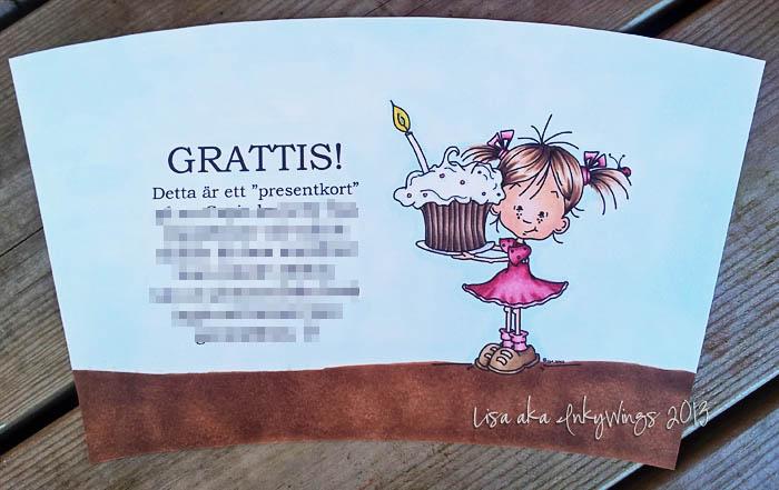 text på grattiskort Grattiskort i annorlunda tappning » Lisa aka InkyWings text på grattiskort